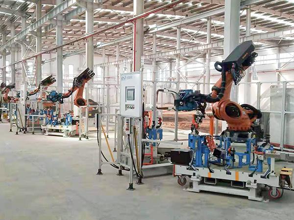 点焊机器人工作站