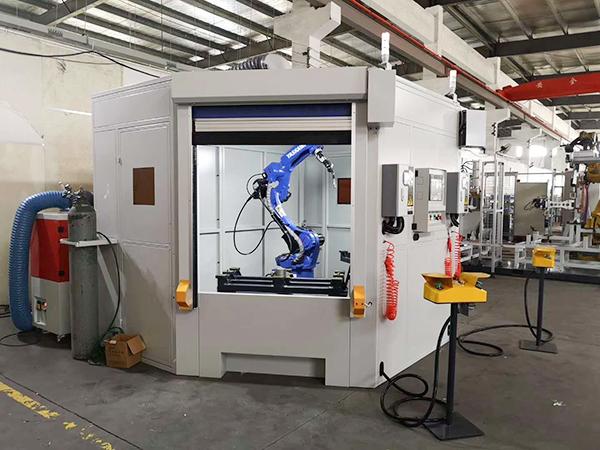 一套完整的焊接机器人工作站包括哪些设备?